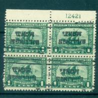 USA 1920 Sc#548 Pilgrim Tercentenary 1c PB4#12421 Precancel Billings, IllinoisFU Lot67330 - Unclassified