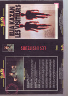 Jaquette Pour Boitier Video K7 Ou Recoupe Dvd Les Visiteurs Elia Kazan - Unclassified