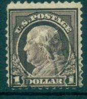 USA 1917-19 Sc#518 $1 Violet Brown Franklin Perf 11 No Wmk FU Lot69294 - Unclassified