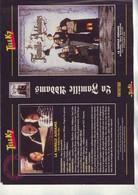 Jaquette Pour Boitier Video K7 Ou Recoupe Dvd  La Famille Addams - Unclassified