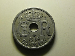 Denmark 25 Ore 1939 - Dinamarca