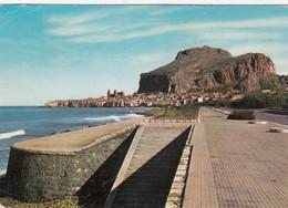 CEFALÚ-PALERMO-PANORAMA DAL LUNGOMARE -CARTOLINA VERA FOTOGRAFIA-VIAGGIATA NEL 1964 - Palermo