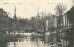 """CPA FRANCE 85 """"Rosnay Près Mareuil Sur Lay, Les Ruines De Piquet"""" - Otros Municipios"""