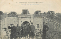 "CPA FRANCE 55 ""Verdun, Fort De Troyon, Bombardements 1914"" - Verdun"