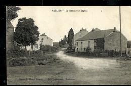 Carte-vue ( MELLIER : Le Chemin Vers Léglise ) Obl. 1925 - Ambulante Stempels