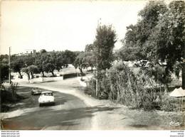 Photo Cpsm 83 CROIX-VALMER. Camping Des Chênes 1964 Avec Voiture DS - Other Municipalities