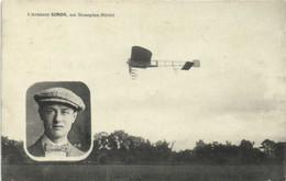 L'Aviateur SIMON  Sur Monoplan Blériot  RV - Flieger