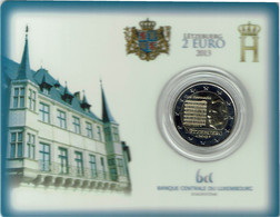 Luxembourg Coincard 2013 Ons Heemecht - Luxembourg