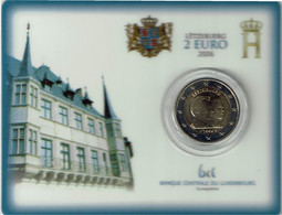 Luxembourg Coincard 2006 25 Ans De Mariage - Luxembourg