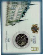 Luxembourg Coincard 2008 Chateau Berg - Luxembourg