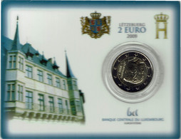 Luxembourg Coincard 2009 Grande-Duchesse Charlotte - Luxembourg