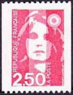 France Marianne Du Bicentenaire N° 2719 ** Briat - Le 2f50 Rouge De La Roulette - 1989-96 Marianne Du Bicentenaire