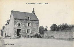 22  Côtes D'Armor - Côtes Du Nord - GUITTE - La Poste - Postes - Other Municipalities