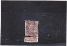 Belgie Nr 61 Tongres (TREINSTEMPEL) - 1893-1900 Thin Beard