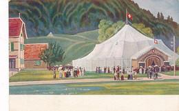 CPA-16696 - Suisse  (zu Orten-Verleger Basel ) -Zelt Des Roten Kreuzes -Envoi Gratuit - Unclassified