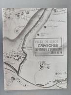 Grivegnée Exposition D'urbanisme Juin 1979 - Belgio