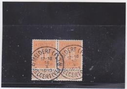 Belgie Nr 108 Meldert (Fl) / Meldert (Vl) (STERSTEMPEL) X 2 - 1912 Pellens