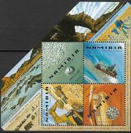 2008  Namibia Mi. Bl. 68 **MNH   Diamantenminen. - Namibia (1990- ...)