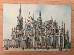 Carte Postale Couleur Nancy Barday église Sainte Epvre - Nancy