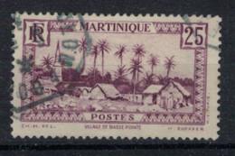 MARTINIQUE            N°  YVERT  140  OBLITERE       ( OB 02/33 ) - Usati