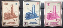 België, 1956, TR358-60, Postfris **, OBP 21€ - 1952-....