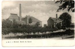 """Herstal - Bords Du Canal """"Brasserie Nève-Delame"""" - 2 Scans - Herstal"""