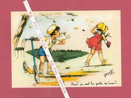 CPM..Germaine BOURET : Hum ! ... ça Sent La Poule De Luxe ! ... - Bouret, Germaine