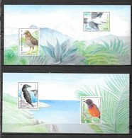 2021 - Oiseaux Des îles - Foglietti Commemorativi