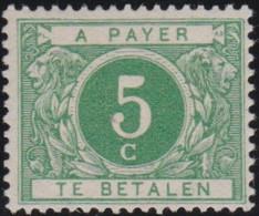 Belgie  . OBP  .    Taxe 12   .     *  .   Ongebruikt Met Gom  .  /  .   Neuf Avec Gomme - Briefmarken