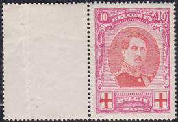Belgie  .   OBP    .   133   (2 Scans)     .   **   .      Postfris   .    /  .   Neuf SANS Charniére - 1914-1915 Croce Rossa