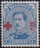 Belgie  .   OBP    . 156  .  (2 Scans)        .   **   .      Postfris   .    /  .   Neuf SANS Charniére - 1918 Rotes Kreuz