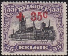 Belgie  .   OBP    . 157  .  (2 Scans)        .   **   .      Postfris   .    /  .   Neuf SANS Charniére - 1918 Rotes Kreuz