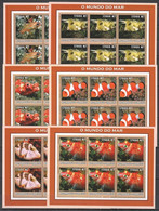 KV151 2002 MOZAMBIQUE FISH & MARINE LIFE 6SET MNH - Maritiem Leven