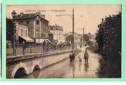 ANTONY * L'ABREUVOIR * ANIMEE CHEVAUX * - Antony
