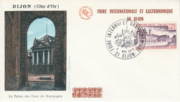FOIRE INTERNATIONALE ET GASTRONOMIQUE DE DIJON 1975 - Gedenkstempel