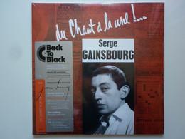 Serge Gainsbourg Double 25cm Vinyle Du Chant À La Une!.. Réédition Back To Black - Formati Speciali