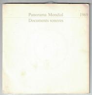 2 DISQUES  PUBLICITAIRE RTL PANORAMA MONDIAL DOCUMENTS SONORES 1969 GENERAL DE GAULLE POMPIDOU EISENHOWER APOLLO II - Formati Speciali