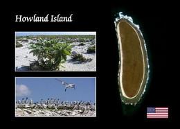 Howland Island Satellite View New Postcard - Autres