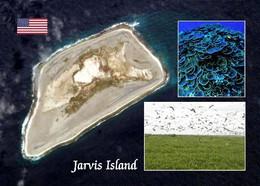 Jarvis Island Satellite View New Postcard - Autres