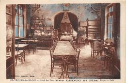 17-ILE-D'OLERON-SAINT-TROJAN-LES-BAINS- HÔTEL DES PINS- Vve LEDUC ET FILS - CAFE - Ile D'Oléron