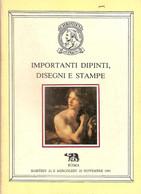 CATALOGO CHRISTIE'S ROMA 1981 IMPORTANTI DIPINTI - DISEGNI E STAMPE - Collectors Manuals