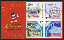 MWD-BK6-486 MINT PF/MNH ¤ HONG KONG  2003 BLOCK ¤ THE WORLD OF WALT DISNEY -- FRIENDS OF WALT DISNEY - Disney