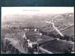 12 ,rodez , La Vallée De L'aveyron  ,vue Générale En 1916 - Rodez