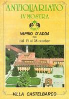 CATALOGO IV MOSTRA VAPRIO D'ADDA - MOBILI - SCULTURE LIGNEE - QUADRI ANTICHI - Collectors Manuals