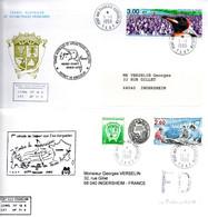 TAAF / LOT DE 25 ENVELOPPES  CAMPAGNE 1999 KERGUELEN- TERRE ADELIE - Unclassified