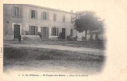 17-ILE-D'OLERON-SAINT-TROJAN-LES-BAINS- PLACE DE LA MAIRIE - Ile D'Oléron