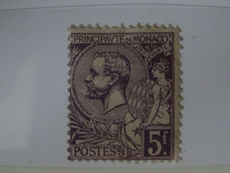 Monaco N° 46 Timbre Neuf Avec Charnière - Unused Stamps