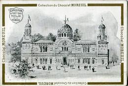 Chromos .n° 23410. Chocolat Moreuil . Pavillon De La Roumanie. Exposition De Paris 1900 . - Altri