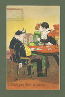CARTE POSTALE HUMOUR FANTAISIE EDITEUR KF PARIS SERIE 1409 L OCCASION FAIT LE LARRON COCU - Humour