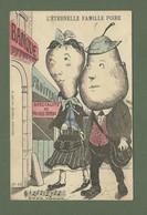 CARTE POSTALE HUMOUR FANTAISIE L ETERNELLE FAMILLE POIRE POIRES TAPEES N°34 LACLAU EDITEUR TOULOUSE - Humour